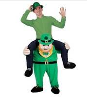 Wholesale Sell like hot cakes Bavarian Oktoberfest Carry Me Ride On Stag Do Mascot Fancy Dress Costumes