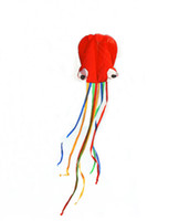 Wholesale Software octopus kite Easy to operate kites Red and green kites Children like the kite