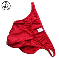 Cheap Wholesale-Bodybuilding Posing Trunk for Men Gym Fitness Competition Posing Wear Mens Swim Wear Boys Swimsuits Hot Sexy Underwear Male