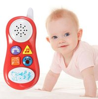 baby studies - Baby Kids Learning Study Musical Sound Cell Phone Children Educational Toys Musical Instrument for Kids Baby