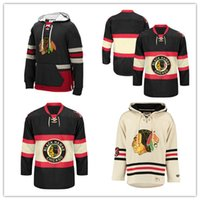 Wholesale Customized Hockey Jerseys Uniforms Toews Sharp Shaw Crawford Men Women Kids Hoodie Hooded Sweatshirt Jackets