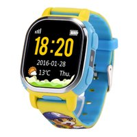 apple chat - EU US Version Tencent QQ Watch Smart GPS Tracker WiFi Locating Kids Wrist GSM Watch Phone Voice Chat SOS Alarm for Children Safe Security