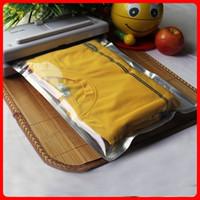 al foods - 50pcs cm cm mic Half Clear AL Foil Flat Open Top Bag Plastic Bag and Pouch Food Vacuum Sealer Bags