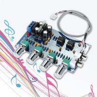 Wholesale NE5532 Audio Channels Preamplifier Tone Board Quality Stereo Pre amp Amplifier Board Professional Telephone Channel Amplifier