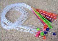 afghan sweater - Transparent plastic weaving tools sweater needle Crochet Afghan carpet long M A
