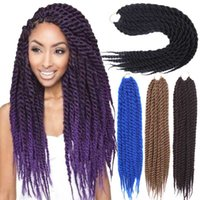 best synthetic hair for braiding - Synthetic Twists Braiding Hair Extension quot g pack Havana Mambo Twist Crochet Braids Best Fashion for Black Women
