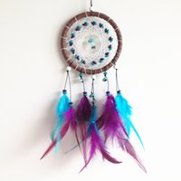 Wholesale dream catcher feather decor dream catchers feather decoration best gift