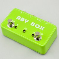 ab guitar - NEW Musical instrument ABY Selector Combine pedal electric Guitar parts Switch Box TRUE BYPASS Amp guitarra pedal AB Y