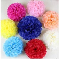 baby decorations ideas - ZH1 Flower Making Ideas With Paper Paper Flowers Roses Pom Pom Garland Party baby Shower wedding holiday Decorations