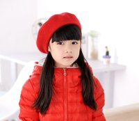 beautiful muffs - 2016 New beautiful colorful beret suitable for children aged between and years