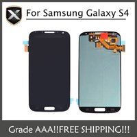 Wholesale Grade AAA For Samsung Galaxy S4 LCD Samsung i9500 I337 I545 I9502 I9505 E300K E300S Lcd Display With Touch Screen