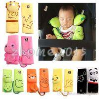 Wholesale Baby Child Stroller Car Seat Safety Belt Strap Cover Pad Cushion Shoulder Holder H210278