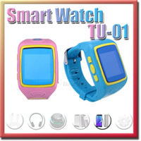 android voice calling - Cheap kids tracker watch TU01with voice monitoring touch screen remote control massage v mah li ion polymer battery watch