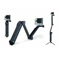 Wholesale For GoPro Way Grip Arm Tripod Mount Foldable Adjustable Handheld for GoPro Hero Series Cameras