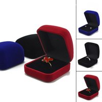 Wholesale Fashion Blue Gift Box for Jewelry Watch Watch ring necklace earrings Jewelry Box