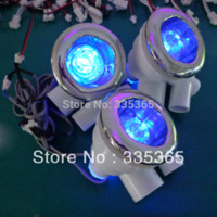air massage tubs - 6pcs recessed waterproof RGB underwater massage tub led water jet light and air jet light with pc manual light controller
