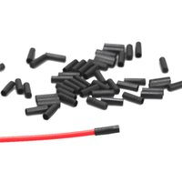 Wholesale 200PCS Cycling Mountain Bike mm mm Brake Cable Tips Crimps Bicycles Derailleur Shift Cable End Caps Core Inner Wire Ferrules