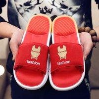 american soles - 5 Colors Fashion Surper Batman Captain American Men s Slippers Indoor Scuffs Casual Shoes Soft Sole Men s Shoes