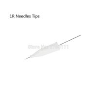 Wholesale Disposable Sterilized Professional R Needles R Tips For Tattoo Eyebrow Pen Machine Permanent Makeup Kit