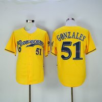 alex gonzalez - milwaukee brewers alex gonzalez yellow MLB Baseball Jersey Cheap Rugby Jerseys Authentic Stitched Size