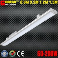 Wholesale 4FT mm W LED LOW BAY LIGHT IP65 Waterproof for Commercial Industrial Lighting led linear warehouse High Bay Light led batten lamp