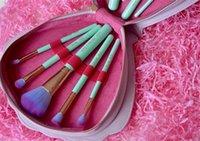 badger case - Sell Spectrum Brushes Mermaid Dreams Piece Vegan Brush Set Glam Clam Case Vegan Brush Set