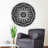 arts believers - Believer Home Decor Wall Stickers Indian Mandala Pattern Vinyl Art Wall Decals Murals Bedroom