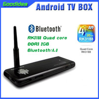 best usb internet - CX919 i9 Quad Core Android Player HD Internet TV Box Small Size Best Signal RAM GB Multi Language