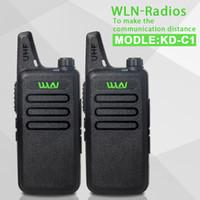 amature radio - 2 Pieces black UHF MHz MINI handheld portable transceiver way Amature Ham Radio Walkie Talkie