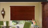 Wholesale NEW Real Wood Venetian Blind with Valance via fedex