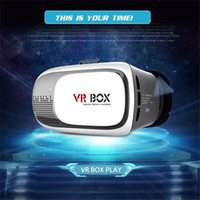 Wholesale VR BOX II Version Google Cardboard VR Virtual Reality D Glasses for Phone With Remote