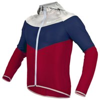 Wholesale New Brand Breathable Quick drying Running Jersey Long Sleeve Wind Coat Bike UV Protect Hooded Ultra thin Running Jacket