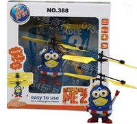 big male models - 2015 Male and Female Despicable ME Minion RC Remote Control Helicopter Flying Toy captain