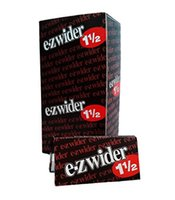 Cheap High Copy 1 1 4 e-zwider Cigarette Rolling Paper 78mm x 44mm smoking rolling paper with watermarks smoking pipe paper 24booklet lot