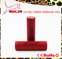 Wholesale 35A for LG HE2 DBHE21865 high drain battery lg he2 battery PK VTC5