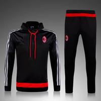 Men best sportswear - hot selling soccer tracksuit chandal Survetement football Tracksuit training suit football skinny pants Sportswear best quality
