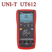 auto test smart - Auto LCR Smart Check and Measurement UNI T UT612 USB Interface Counts w Inductance Frequency Test LCR Meter