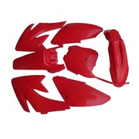 Wholesale CRF70 Motorcycle Dirt Bike Body Plastic Fender Cover Kit For HONDA CRF70 CRF Baja