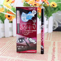 Wholesale 2016 YANQINA H Makeup Eyeliner Pencil Waterproof Black Eyeliner Pen No Blooming Precision Liquid Eye liner set