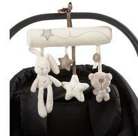 achat en gros de jouets pour bébés pendre-MamasPapas Baby Rabbit Lit Poussette Hanging Rattle Peluche Soft Toy Musical