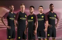 Wholesale Thai Premier Edition Manchester City Kits adults Soccer full set Jerseys kompany sterling NASRI De Bruyne SILVA toure yaya ku