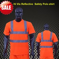 ansi safety - BIG SALE EN471 ANSI SEA AS NZS High visibility two tone safety reflective clothing hi vis shirt