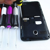 Wholesale Universal in Opening Pry Repair Tool Kit cellphone Screwdrivers Set Kit phone repair tool For Samsung for iPhone S