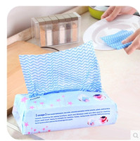 Wholesale New arrival package Cleaning Cloths Household Cleaning Tools kitchen Multipurpose Cleaning Cloth Removable Non woven Cloth