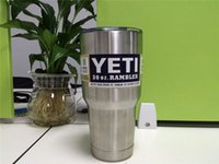 Wholesale New Bilayer car Stainless Steel Insulation Cup OZ YETI Cups Cars Beer Mug Large Capacity Mug Tumblerful