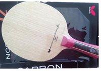 Wholesale GOOD Table tennis Racket SUPER ZLC Horizontal grip handle FL Straight grip handle CS