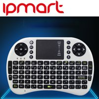 Wholesale Portable mini keyboard Rii Mini i8 Wireless Keyboard with Touchpad for PC Pad Google Andriod TV Box Touch Fly Air Mouse