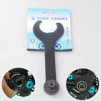 bicycle bracket remover - Soul Travel Bike Spanner Black Iron Bicycle Bottom Bracket Spanner Cycling Bicycle Wrench Remover Bicycle Repair Tools Kit