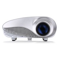 Wholesale xcelvan RD802 Portable Mini Projector Home Theater LED amp LCD Projector P With HDMI USB SD VGA AV Audio Out Input Cheap projecto