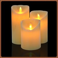 Wholesale Flickering Battery Operated LED Candle Tea light Candles Flameless Smokeless Romantic Suitable Waterproof Candle Light with Remote Control